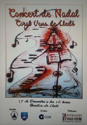 Concert de Nadal a la Basílica de la Mare de Déu del Lledó